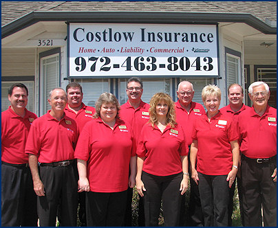 Costlow Insurance - Licensed Insurance Agents and Employees